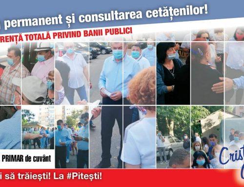 Transparență totală privind banii publici!