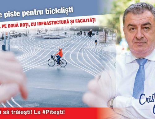 Zeci de piste pentru bicicliști