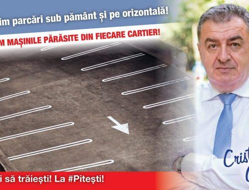 Construim parcări sub pământ și pe orizontală!